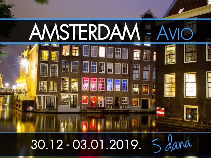 AMSTERDAM NOVA GODINA - Avio
