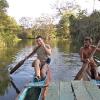 Sri Lanka - veslanje - katamaran - jezero - dzungla - domoroci - palme - slonovi