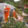 Sri Lanka - hram - dambula - pecine - biblioteka - kralj - polonaruva - kraljevstvo - budisti - hinduisti - monasi