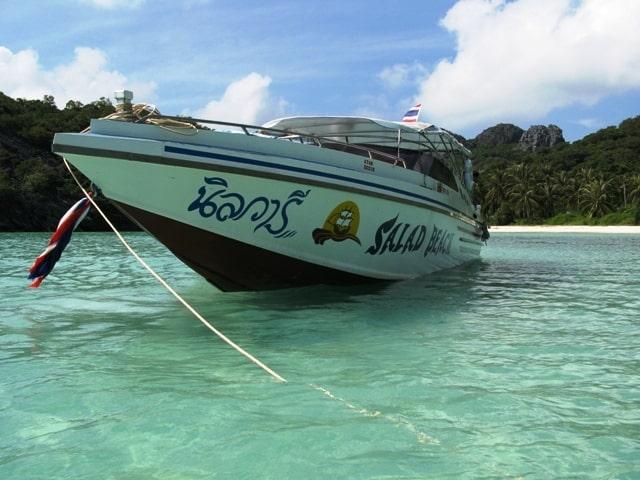 Tajland - boat trip