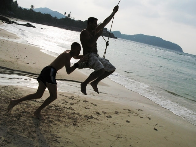 Tajland - had Khom plaža