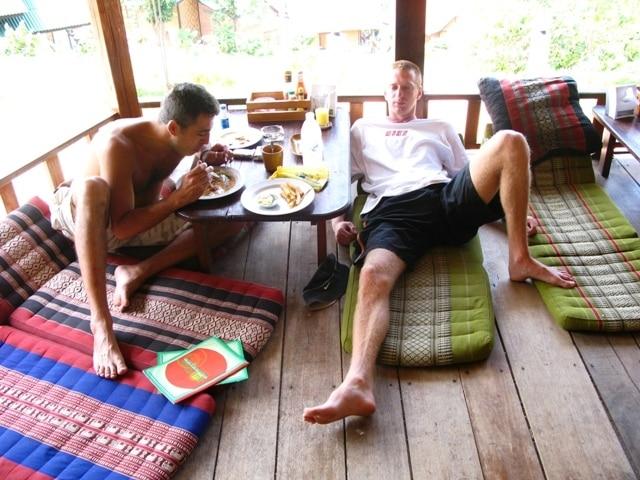 Tajland - doručak