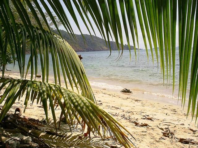 Tajland - plaža
