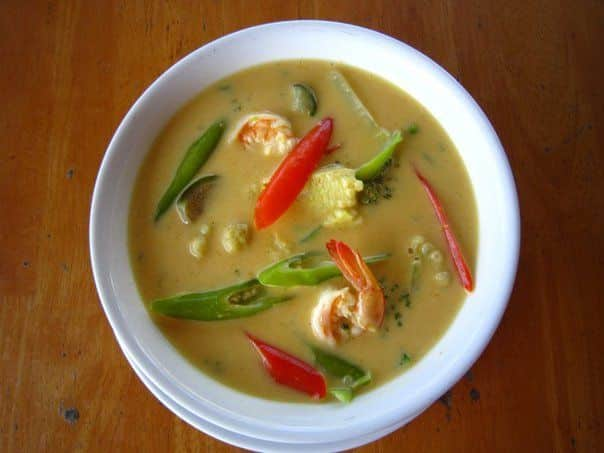Tajland - red curry coconat milk soup