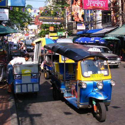 Tajland - Tuk Tuk u Bangkoku