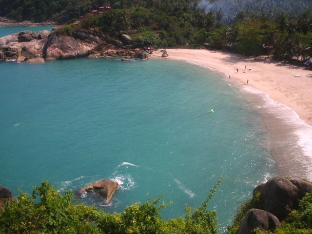 Tajland - plaža Had Sadet - Koh Phan Gan