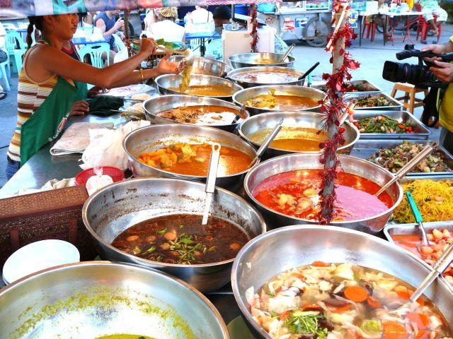 tajland - hrana na pijaci