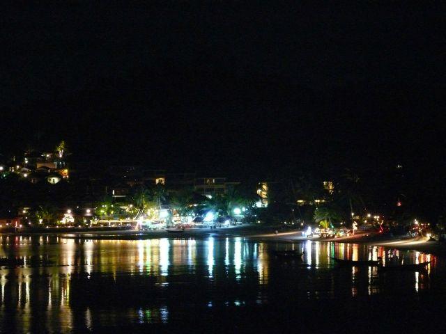 tajland - ostrvo noću
