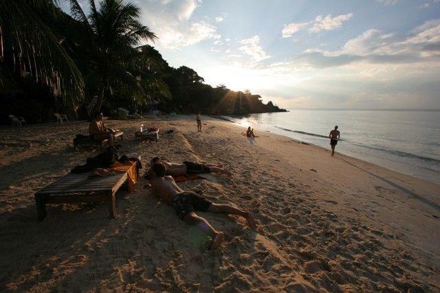 tajland - izležavanje na plaži