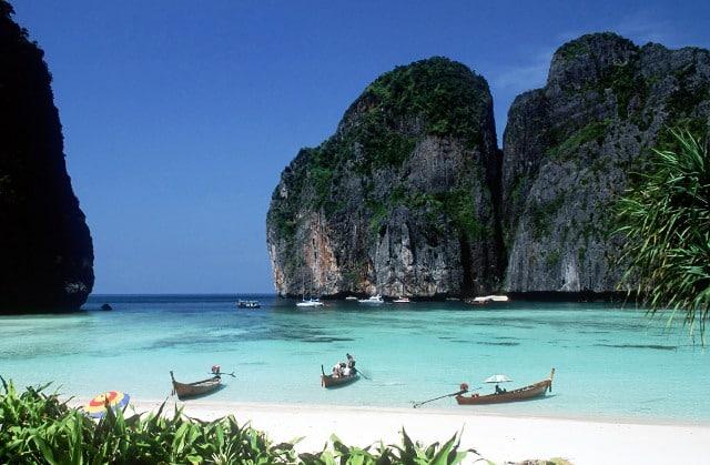 tajland - tirkizno more