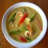 Tajland - red curry coconat milk soup
