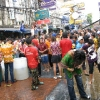 Tajland - tajlandska nova godina - prskanje
