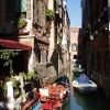 Venecija i gondole