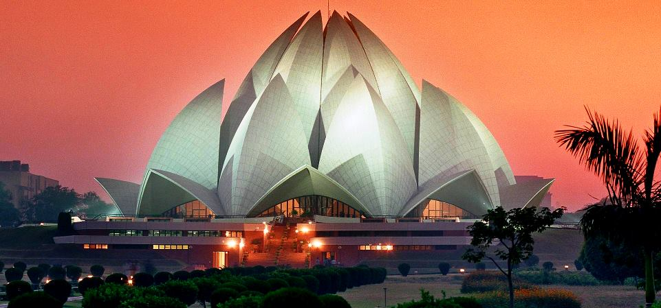 Lotus hram New Delhi