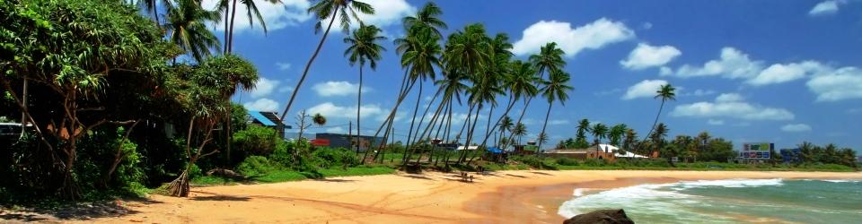 Sri Lanka plaža