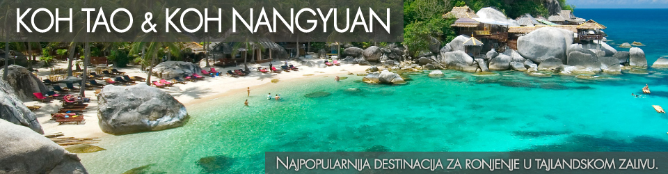 Koh Tao ostrvo - Tajland