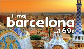 Barselona 1. Maj