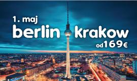 Krakov + Berlin 1. maj