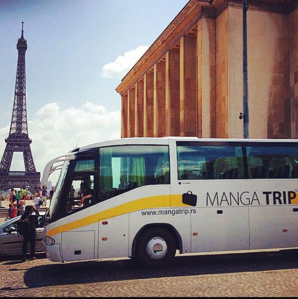 Manga bus u Parizu