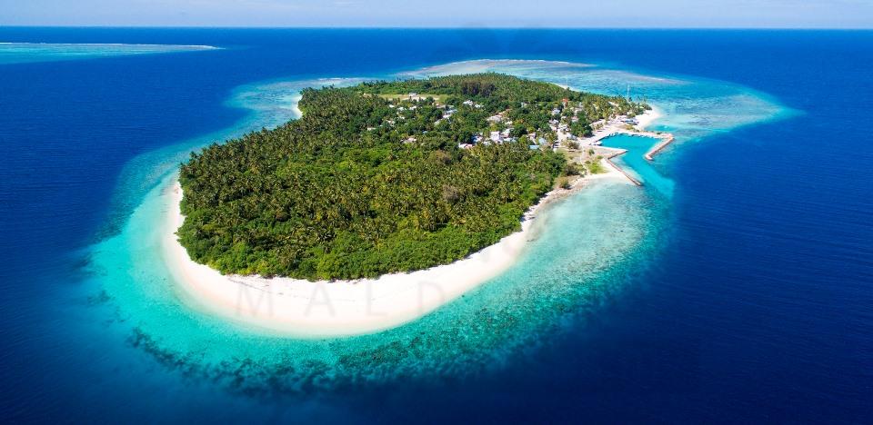 Feridhoo ostrvo Maldivi