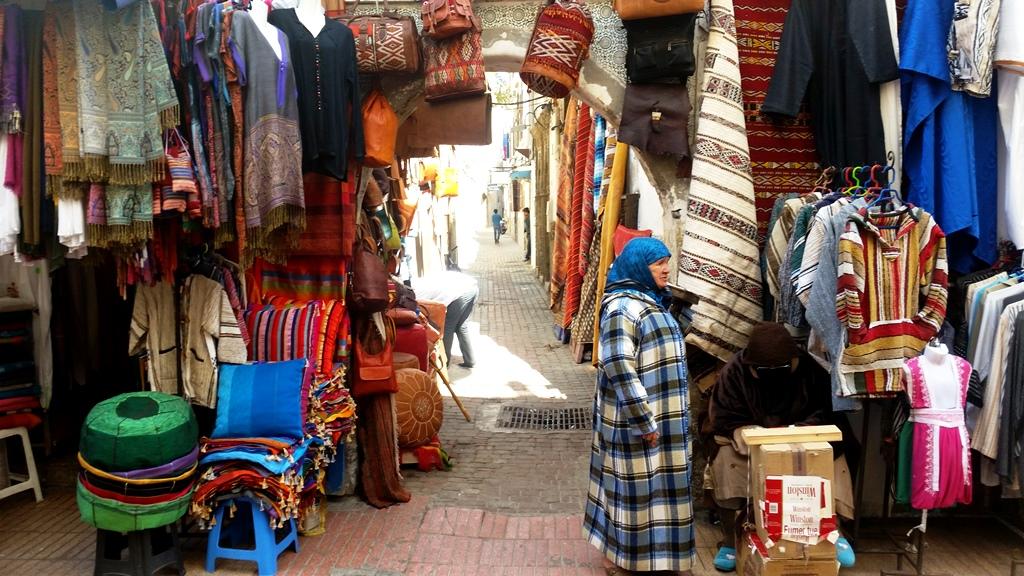 Maroko - Trgovci